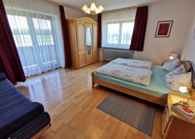 FeWo 1 | Schlafzimmer | Urbanhof Fam. Reif