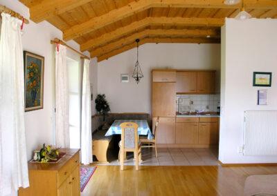 Küche der Ferienwohnung 2 | Urbanhof Fam. Reif