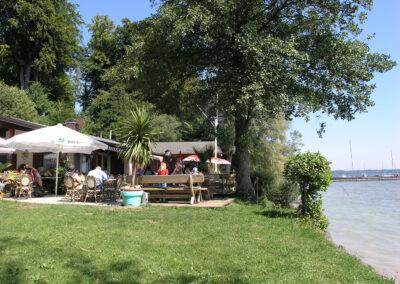 Am Badestrand in Gollenshausen | Urbanhof Fam. Reif